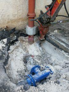 remplacement vanne poteau incendie marseille