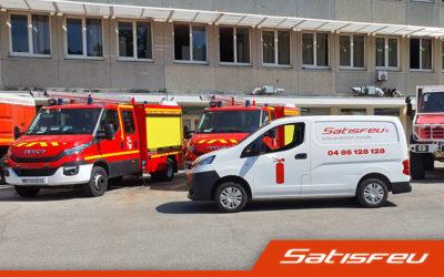 SATISFEU au service des futurs Marins-Pompiers
