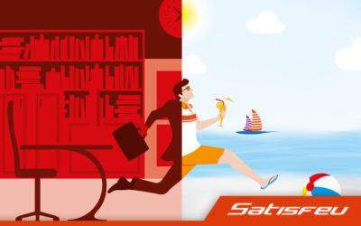 Satisfeu prend des vacancesla semaine du 16 au 22 août !